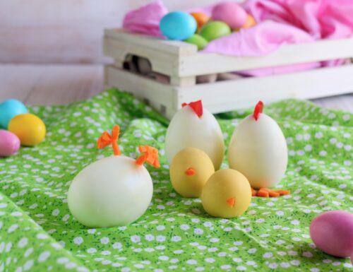 come fare galline con uova sode