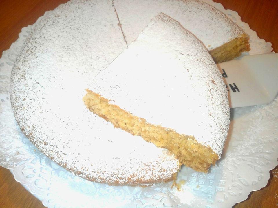 torta morbidissima senza uova con ricotta e miele
