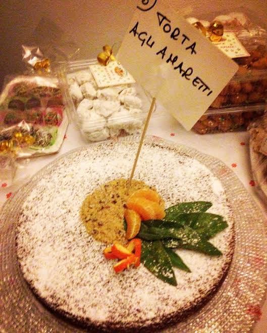 Torta agli amaretti con San Marzano/Torta di pane ! CriCri #cucchiaiod'argento