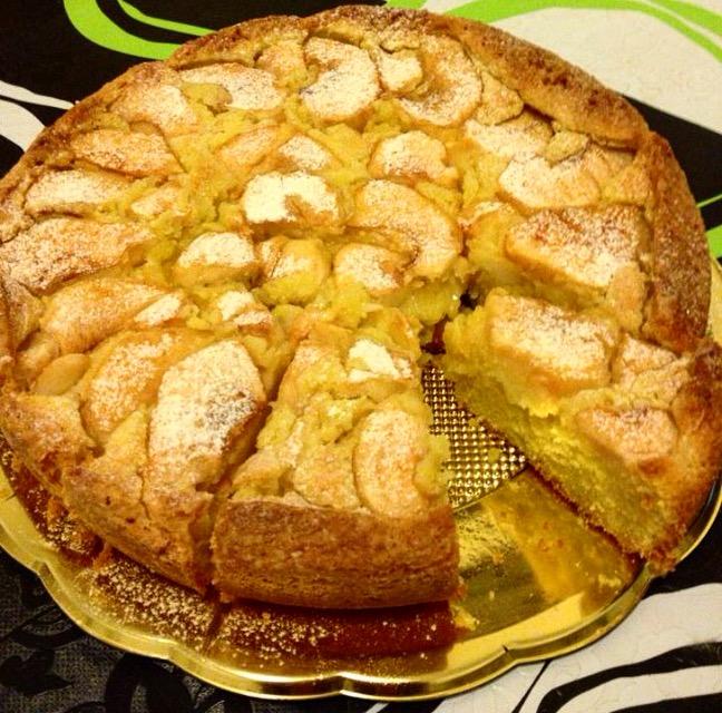 Torta di mele | La ricetta rovesciata