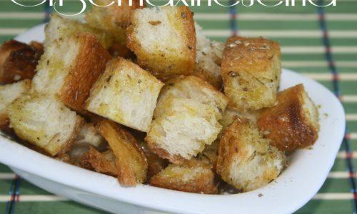 Crostini olio e origano, ricetta veloce