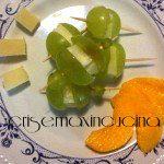 Bocconcini di uva e pecorino