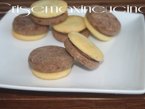 Biscotti black and white, ricetta golosa