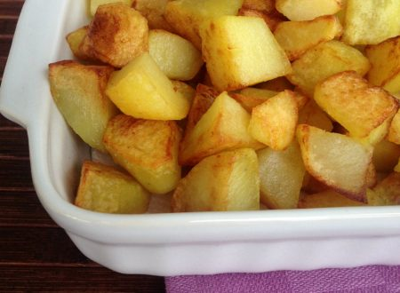 Patate fritte aromatizzate, ricetta vegetariana