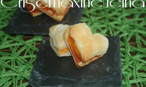 Cuori di pasta sfoglia, ricetta di San Valentino