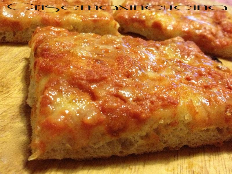 Pizza impasto di bonci ricetta lievitata for Pizza con planetaria