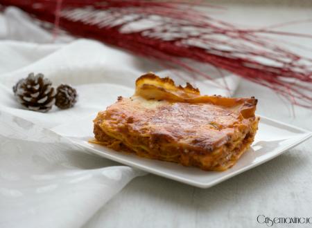 Lasagne al forno, ricetta tradizionale della cucina italiana