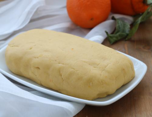 Pasta frolla all'arancia, ricetta base con e senza Bimby