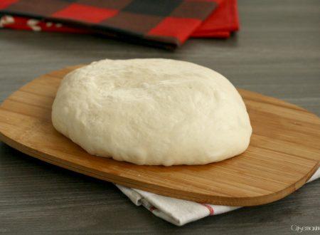 Impasto fatto a mano pizza Bonci, ricetta lievitata