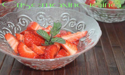 Macedonia di fragole, ricetta golosa
