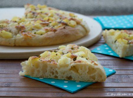 Pizza con le patate di Bonci, ricetta lievitata