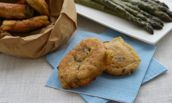 Frittatine con gli asparagi, ricetta facile