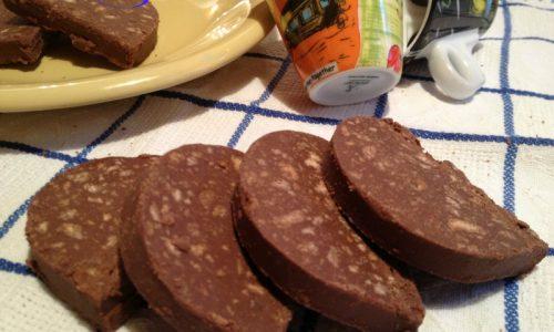 Salame di cioccolato, ricetta golosa