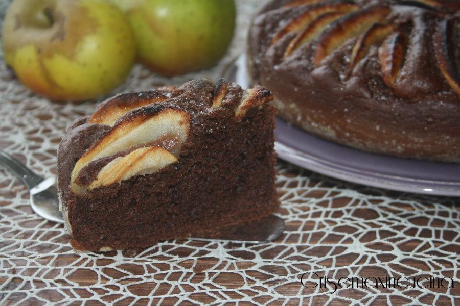torta mele e ciocco