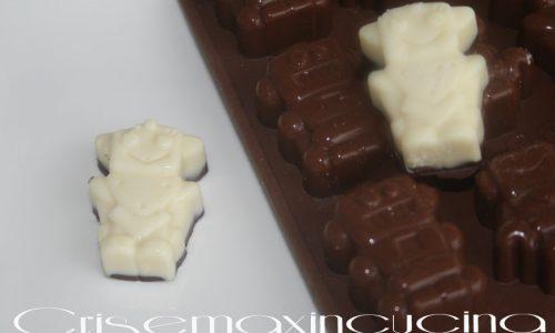 Cioccolatini bianchi con i wafer, ricetta dolce