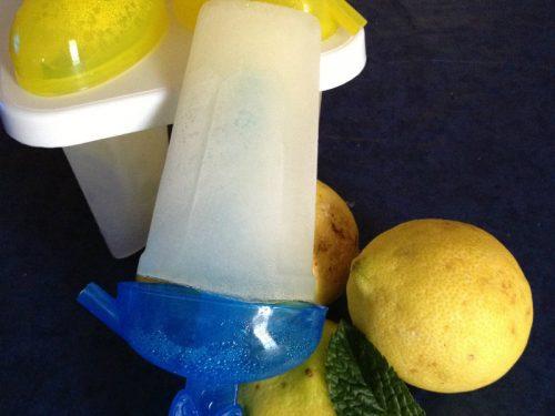 Ghiaccioli al limone, ricetta rinfrescante