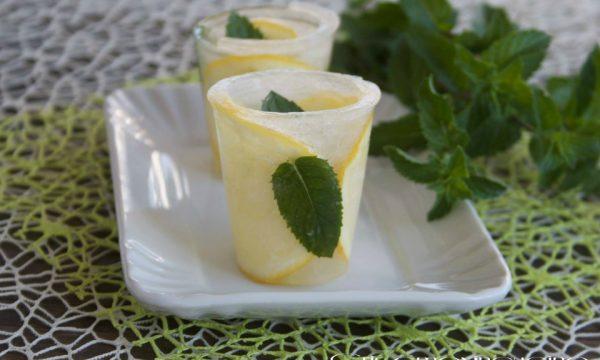 Acqua aromatizzata, ricetta senza calorie