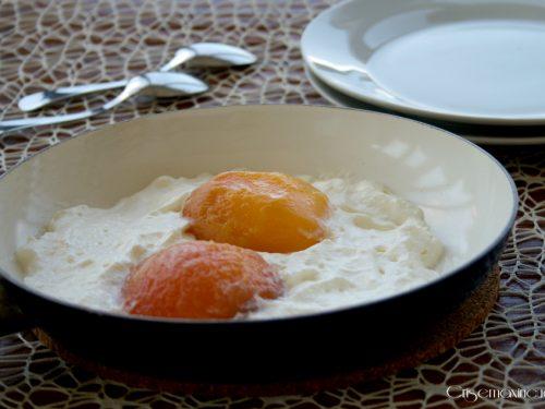 Finte uova, ricetta dolce