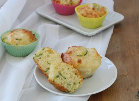 Muffin alle zucchine, ricetta infallibile facile e veloce.