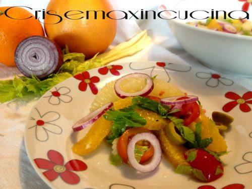 Insalata di arance a modo mio, ricetta sana