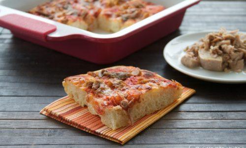 Pizza acciughe e tonno, ricetta impasto Bonci