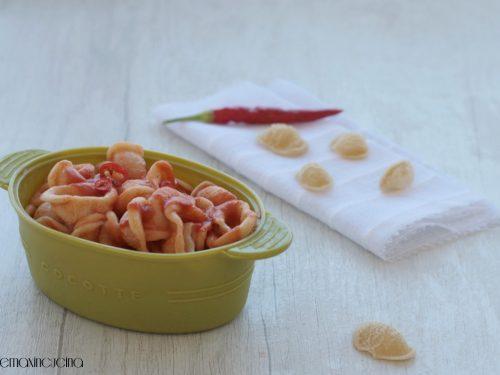 Orecchiette piccanti, ricetta economica