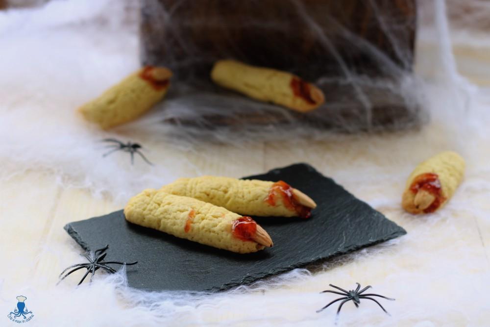 Dita da Strega, Ricetta Mostruosa e Golosa di Halloween