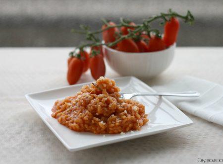 Risotto al pomodoro, ricetta primo piatto