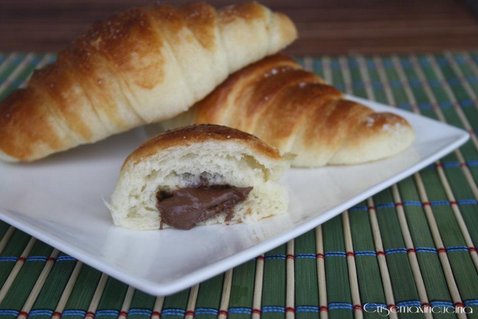 croissant sfogliati nutella