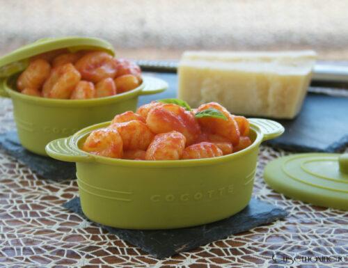 Gnocchi al pomodoro, ricetta primo piatto