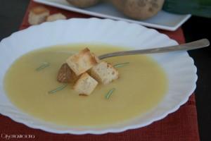 crema di porri e patate 1