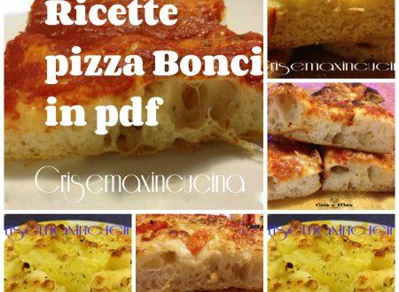 Ricette pizza Bonci in pdf
