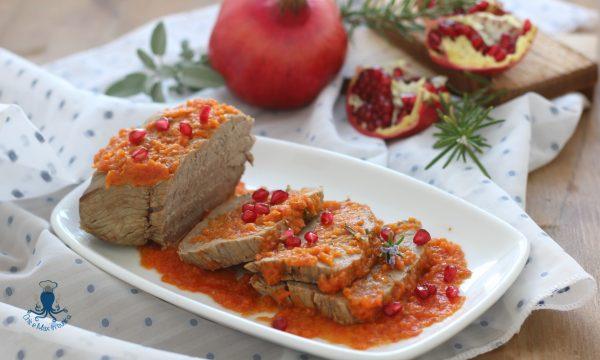 Arrosto al melograno, secondo piatto originale e di facile preparazione