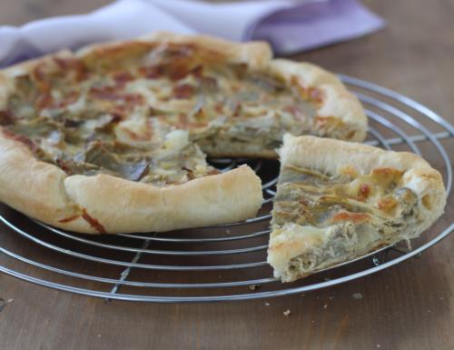 Torta salata con i carciofi, ricetta sfiziosa perfetta per ogni occasione