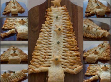 Albero di Natale farcito, ricetta salata facile e veloce