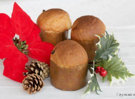 Panettoncini semplici, ricetta natalizia facile e veloce