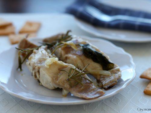 Lombatine di coniglio agli aromi, ricetta facile