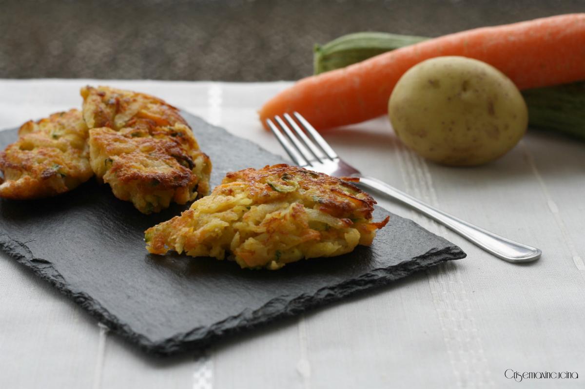 frittatine con le verdure