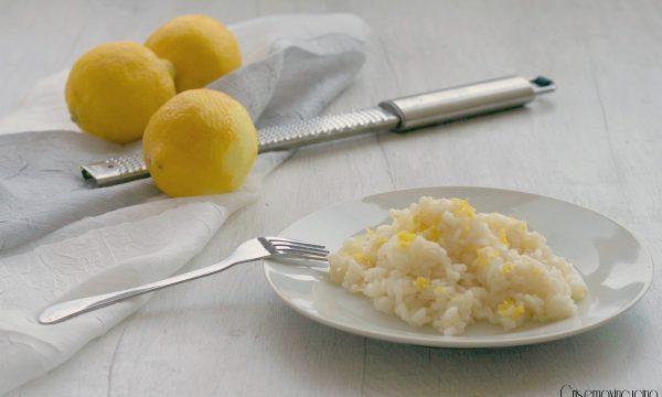 Riso al limone, ricetta veloce