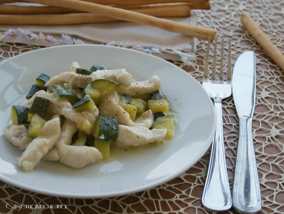 Ricette straccetti di carne con zucchine
