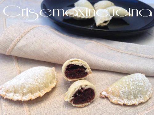 Ravioli con marmellata e cacao, ricetta dolce