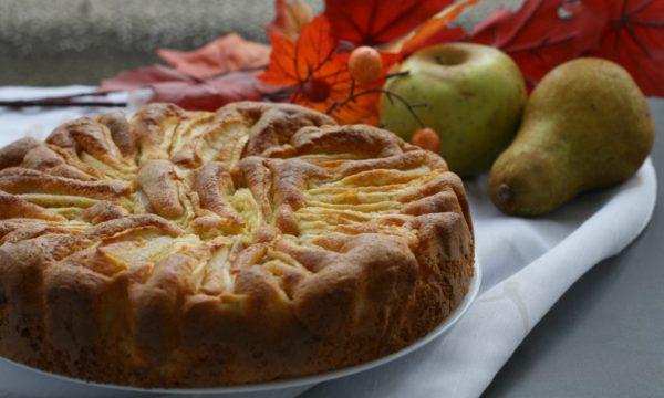 Torta di mele e pere, ricetta semplice