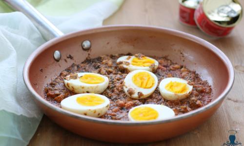 Uova e tonno al verde, ricetta secondo piatto tipica piemontese
