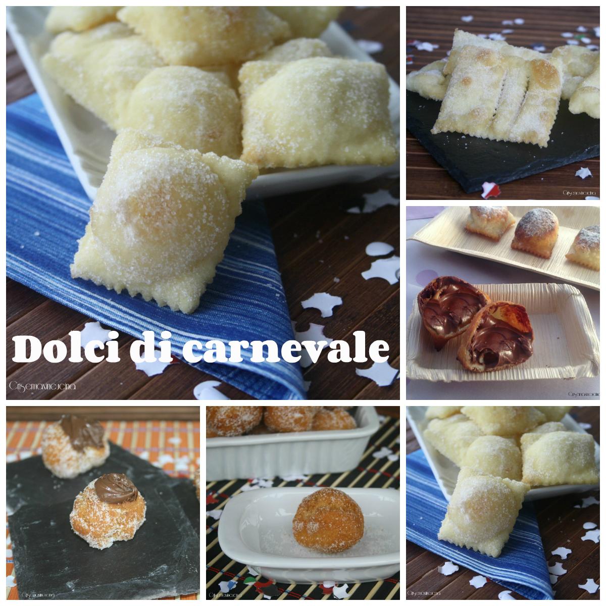 Dolci di carnevale raccolta di ricette for Ricette dolci di carnevale