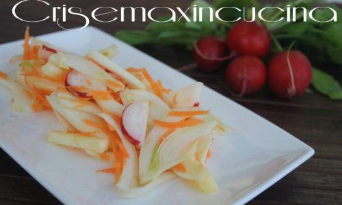 Insalata di finocchi e ravanelli, ricetta veloce