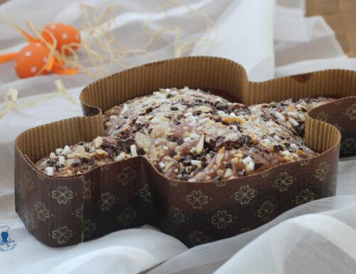 Torta colomba al cioccolato, ricetta di facile e veloce preparazione