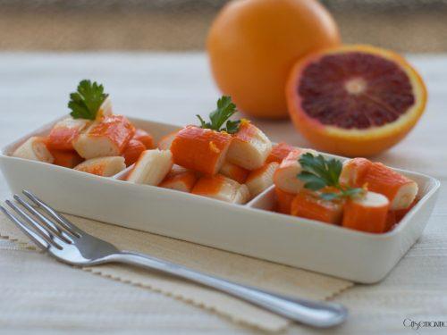 Surimi agli agrumi, ricetta sfiziosa