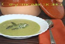 Crema di asparagi, ricetta light