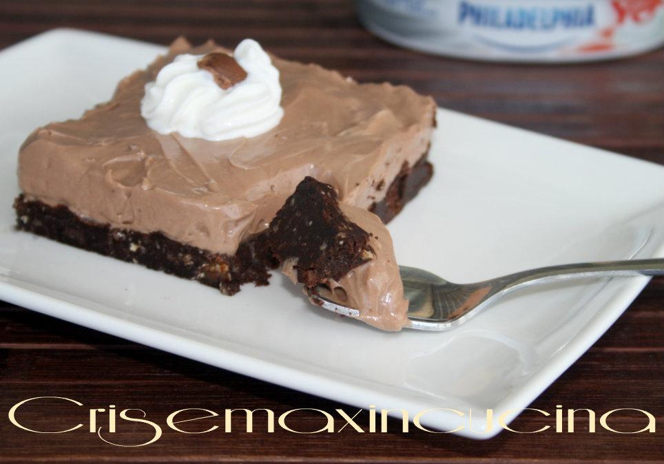 cheesecake fhiladelphia e nutella