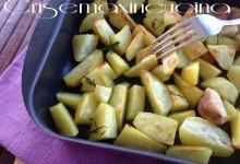 Patate al forno, ricetta vegetariana